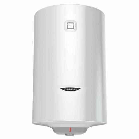 Boiler termoelectric Ariston Pro 1 R 100 VTS, serpentina partea stanga, 100 L, 1800 W