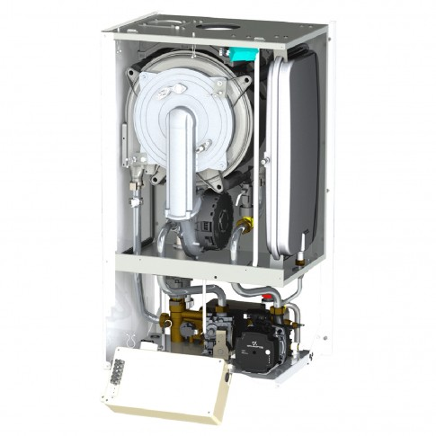 Centrala termica pe gaz, cu condensare, Motan MKDens 35 C38GC35, 35 kW, fara kit evacuare