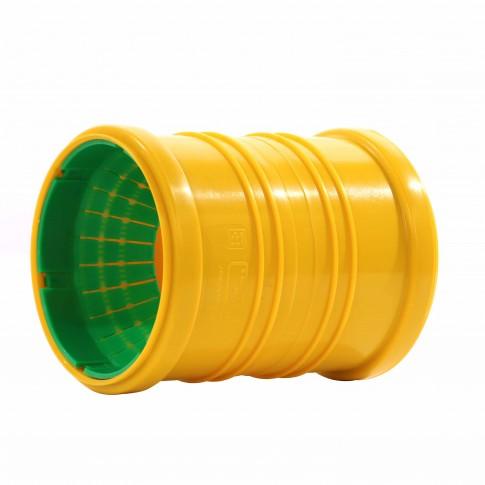 Mufa dubla universala pentru drenaj, 110 mm