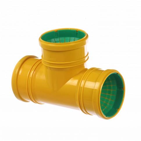 Ramificatie 87 grade pentru drenaj, intrare 110 mm
