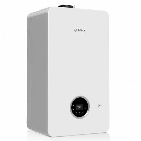 Centrala termica pe gaz, cu condensare, Bosch Condens 2300 W, 24 kW, fara kit evacuare