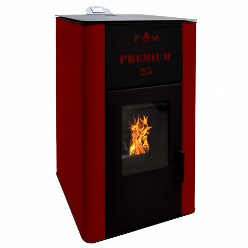 Termosemineu pe peleti FM Premium 25, 25 kW, 3 kg/h, 1056 x 620 x 554 mm
