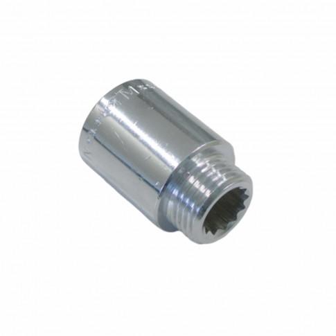 Prelungitor alama cromata MF 1/2, L 10 mm