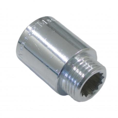 "Prelungitor alama cromata MF 3/4"", L 25 mm"
