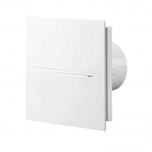 Ventilator silentios Quiet Style Vents, alb, plastic, D 100 mm