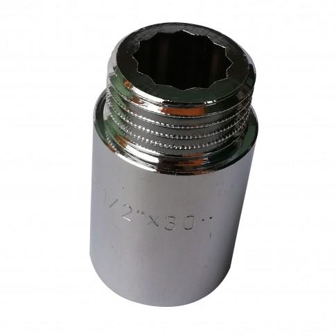 """Prelungitor alama, cromat, FI-FE, 30 mm x 1/2"""""""