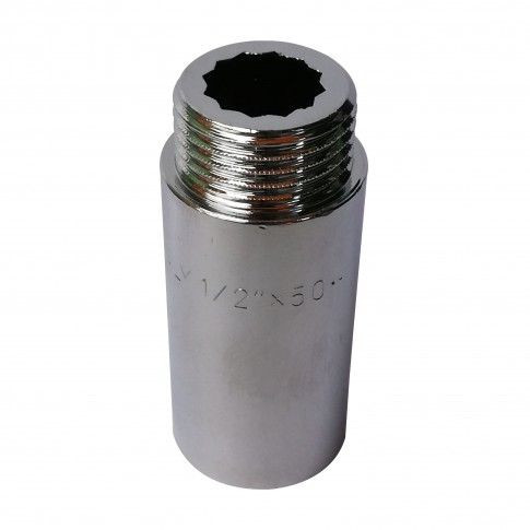 """Prelungitor alama, cromat, FI-FE, 50 mm x 1/2"""""""