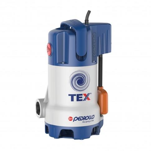 Pompa submersibila ape murdare Pedrollo TEX2, 14.4 mc / h, H max. 10 m, 0.37 kW