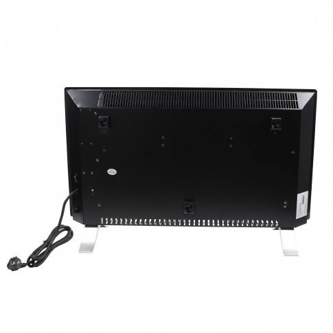 Convector electric Paxton CD-2400W, 2 trepte, 2400 W, WIFI, control touch, afisaj LED, negru