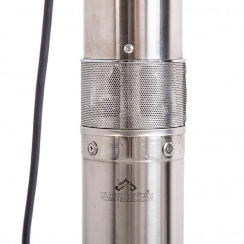 Pompa submersibila ape curate Wasserkonig SW3000-140, inox, 3 mc/h, H max. 140 m, 1600 W