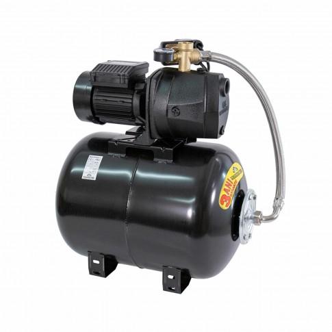 Hidrofor Wasserkonig W4500-48/50H, cu pompa autoamorsanta din fonta + vas 50 L + presostat + manometru + furtun flexibil + racord 5 cai, 1100W
