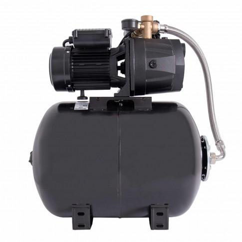 Hidrofor Wasserkonig W4400-46/50H, cu pompa autoamorsanta din fonta + vas 50 L + presostat + manometru + furtun flexibil + racord 5 cai, 1000 W