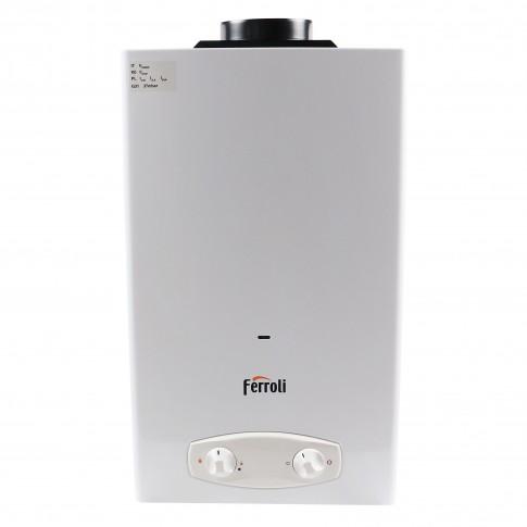 Instant apa calda Ferroli Zefiro Pro 11, gaz natural, 21.1 kW, 575 x 330 x 180 mm