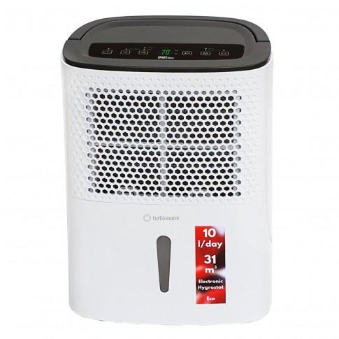 Dezumidificator Turbionaire Smart 10 Eco, 10 L/24h, rezervor 1.8 L, 200 W, control digital