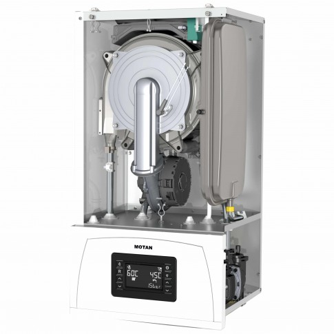 Centrala termica pe gaz, cu condensare, Motan Condens 100, 25 kW, fara kit evacuare