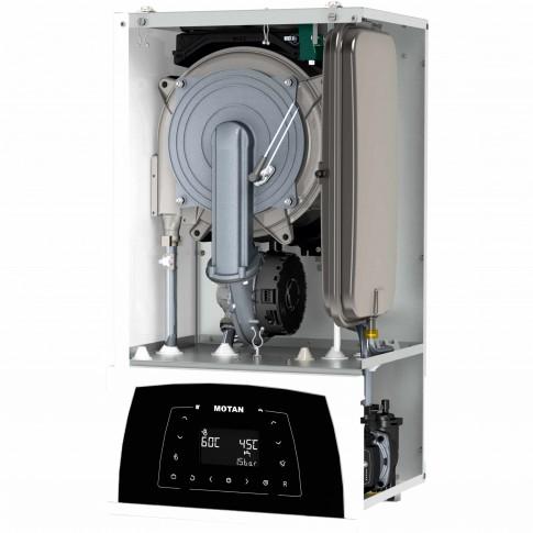 Centrala termica pe gaz, cu condensare, Motan Condens Plus 100, 29 kW, fara kit evacuare