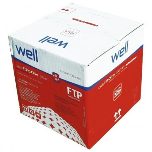 Cablu FTP Cat 5e cu sufa 305M-Mes, cupru