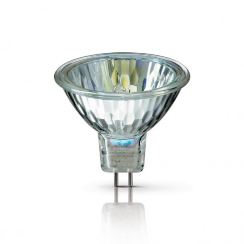 Bec halogen GU4 Philips BrilliantLine dicroic 12V 20W lumina calda