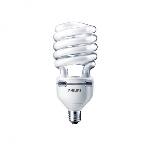 Bec economic E40 Philips Tornado EHL 75W lumina calda
