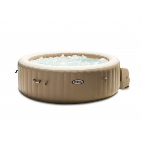 Piscina gonflabila Intex PureSpa Bubble massage 28426, cu masaj, 196 x 71 cm