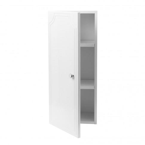 Dulap baie suspendat, P 30, 1 usa, alb, 30 x 70 x 21 cm