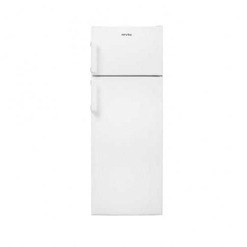 Frigider Arctic AD54240+, 2 usi si 6 rafturi, 223 l, clasa A+, alb, inaltime 145.8 cm, termostat reglabil, compartiment Garden Fresh