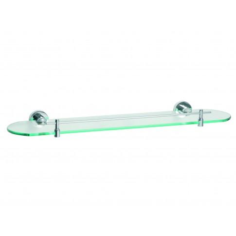 Etajera pentru baie din sticla Bisk For You BIS01183, 52.5 x 15.5 x 4.5 cm