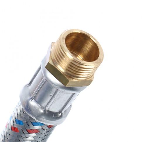 """Racord presiune antivid, conectare pompa vas hidrofor, 1"""", 60 cm, 442C1060"""