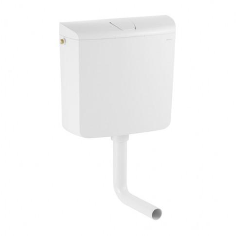 Rezervor WC semi - inaltime Geberit AP 110, actionare start / stop, 6 / 9 L, 41 x 39 x 13.5 cm
