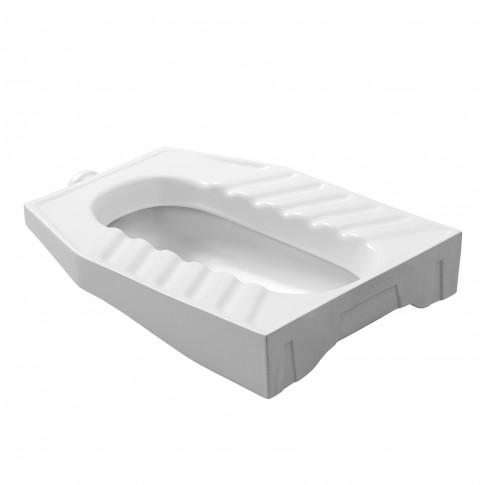 WC turcesc Fayans T6 170208, alb, cu evacuare verticala