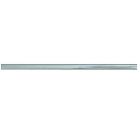 Bara din alama, pentru bucatarie, 4116, argintie, 1.6 x 120 cm