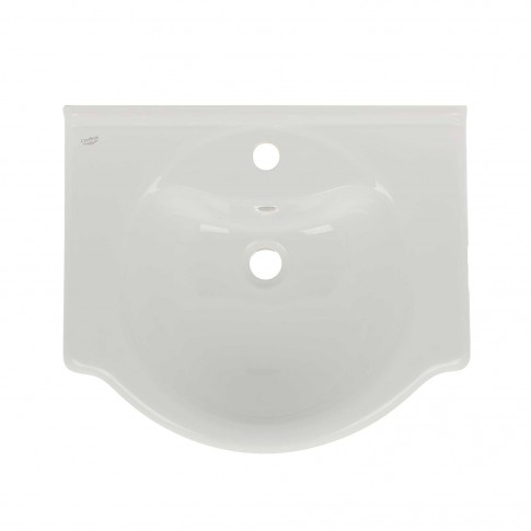 Lavoar Arthema Eco art. 055E, alb, rotunjit, 55 cm