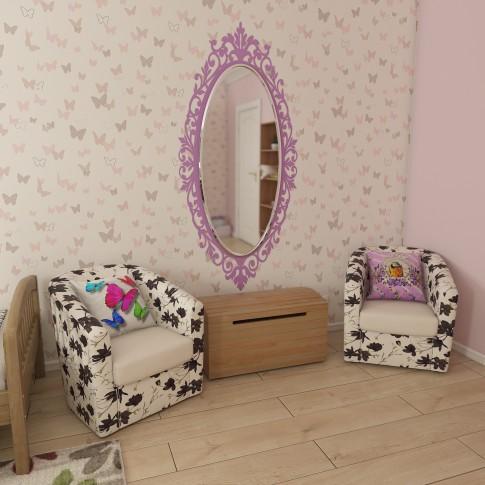 Oglinda decorativa Class Mirrors O21, ovala, 130 x 60 cm