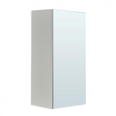 Dulap baie cu oglinda, Ricco, 1 usa, 35 x 22 x 68 cm