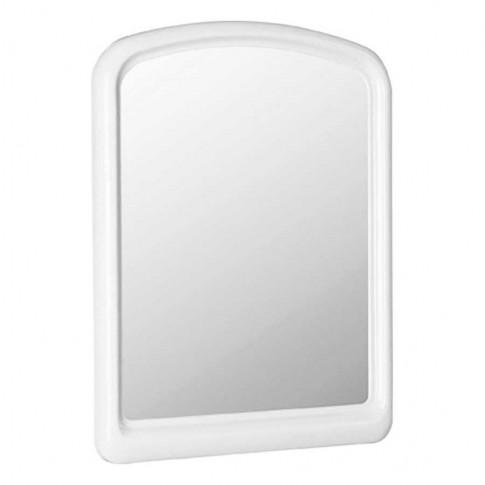 Oglinda baie 114, alb, cu rama, 45 x 60 cm