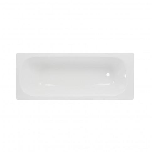 Cada baie rectangulara, tabla, Smavit Cassia, 120 x 70 cm