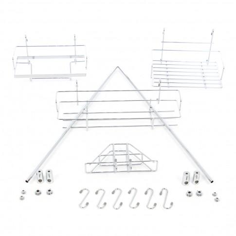 Accesorii bucatarie, 4000, metal, set 16 piese