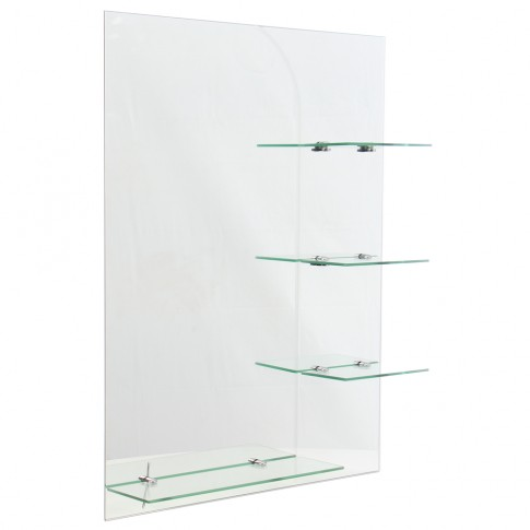Oglinda baie E 036, 60 X 80 cm, 4 etajere