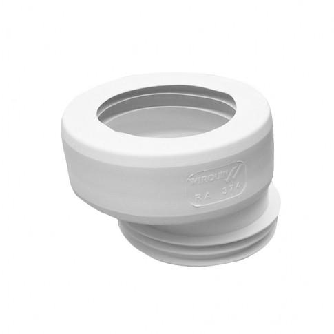 Manson excentric, pentru iesire vas WC, Wirquin RA374, 100 / 110 mm