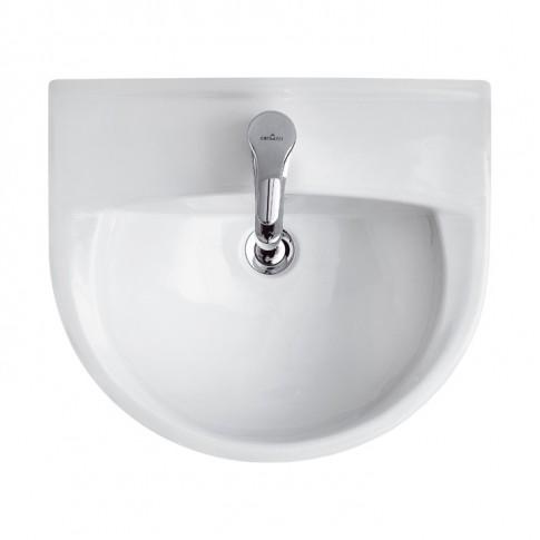 Lavoar Kadda R04-034, alb, rotunjit, 50 cm