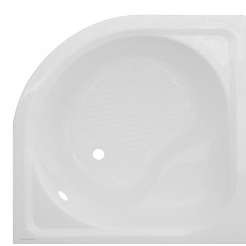 Cadita dus semirotunda Martplast Ocean, acril, masca si suport incluse, 90 x 90 x 50 cm