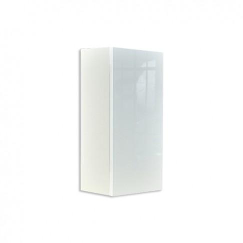 Dulap baie suspendat, Ricco, 1 usa, alb, 35 x 68 x 22 cm