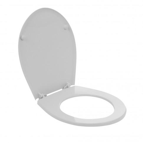 Capac WC din termoplast, Kolo Idol 10131, alb, inchidere standard, 367 x 431 mm