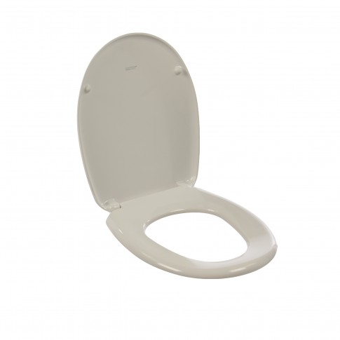 Capac WC din duroplast, MKW Gama S403V010, alb, inchidere standard