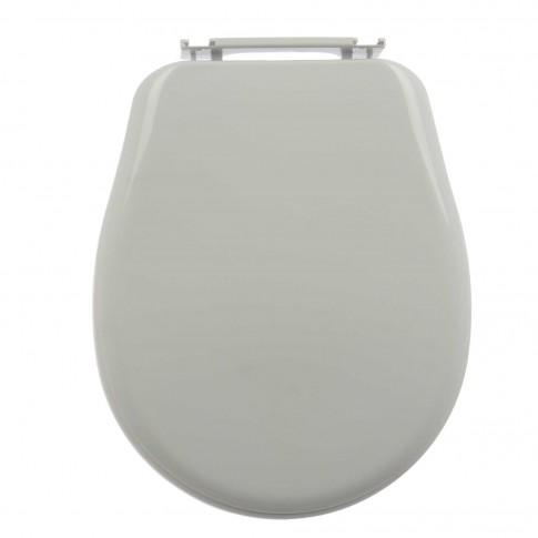 Capac WC din polipropilena, Cersanit Roma K98-0009, alb, inchidere standard