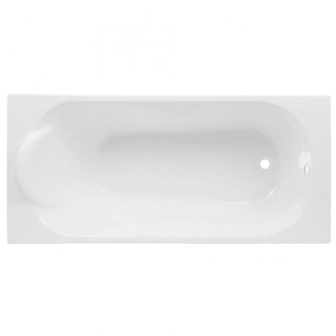 Cada baie rectangulara Martplast Mondo, acril + poliuretan, 150 x 70 cm, masca frontala si suport incluse