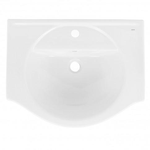 Lavoar Fayans Larisa 195160, alb, rotunjit, 60 cm