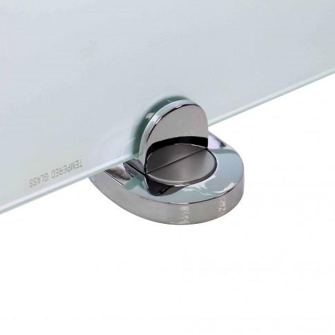 Etajera pentru baie din sticla Smodo 4FSR052007, 60 cm
