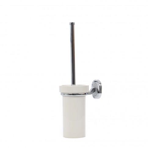 Perie WC  Smodo 4FSR056007, suspendat, sticla mata