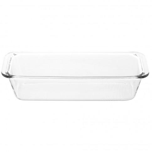 Bol pentru chec, sticla termorezistenta, transparent, 31 x 12.5 x 7 cm, 1630 ml